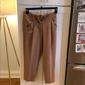 Aritzia Wilfred Cropped pants size 4
